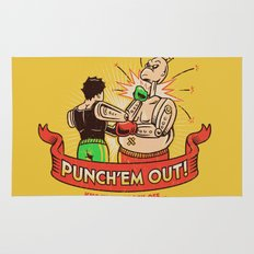 Punch'em Out Rug
