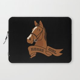 Horse Girl Laptop Sleeve