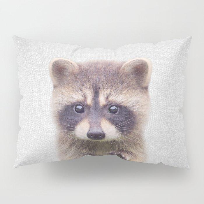 Raccoon - Colorful Pillow Sham
