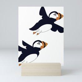Puffins Mini Art Print