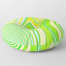 Abstract Creation by Robert S. Lee Floor Pillow
