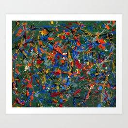 Abstract #17 Art Print