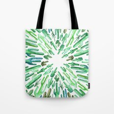 cactus invasion Tote Bag