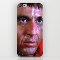 scarface iPhone & iPod Skins featuring Al Pacino @ Scarface #1 by Gabriel T Toro