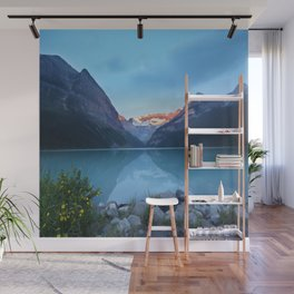 Mountains lake Wall Mural