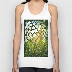 Fly High Dragonfly. Unisex Tank Top