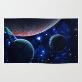 Three Planets Rug