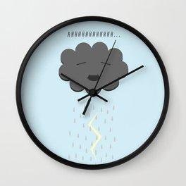 Cloud Pee Wall Clock