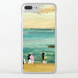 James McNeill Whistler Southend Pier Clear iPhone Case