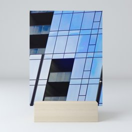 Glass Cubism Mini Art Print