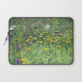 Summer Field Killington Vermont Laptop Sleeve