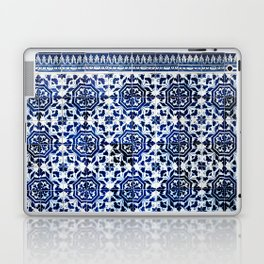 Cobalt Flourish Laptop & iPad Skin
