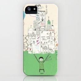 I love life. iPhone Case