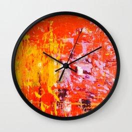 SCRAPE 4 Wall Clock