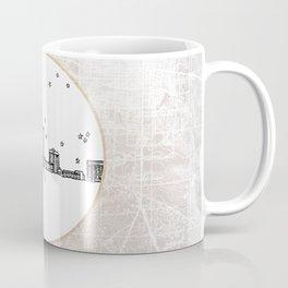 Tallahassee, Florida City Skyline Illustration Drawing Coffee Mug