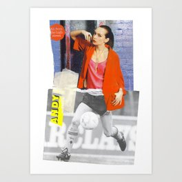 Football Fashion #12 Art Print