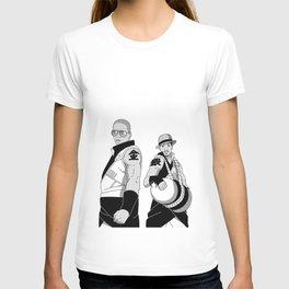 Kinkaku Boi and Ginkaku 3000 T-shirt