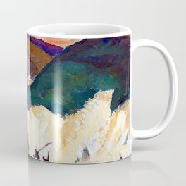 Nicolae Tonitza Golgotha Coffee Mug