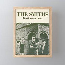 Smiths - The Queen Is Dead Framed Mini Art Print