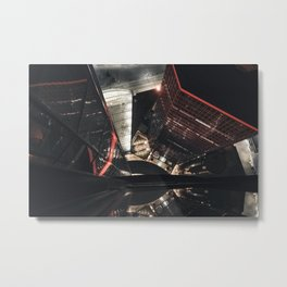 Looking Down from the GM Renaissance Center 1 Metal Print