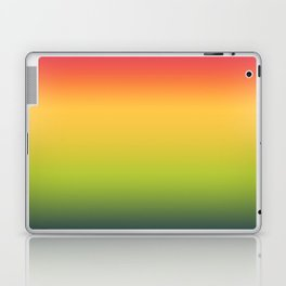 Abstract Colorful Tropical Blurred Gradient Laptop & iPad Skin
