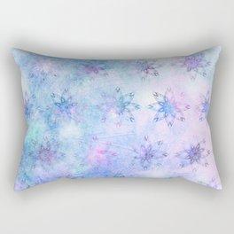 Snow Blossoms Rectangular Pillow