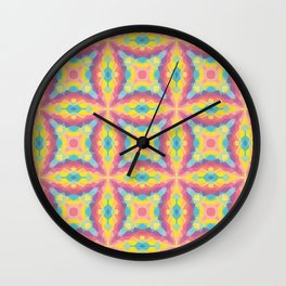 Aesthetics: abstract pattern -  trippy Wall Clock