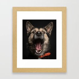 dinertime Framed Art Print
