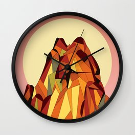 TOUCHING THE VOID Wall Clock