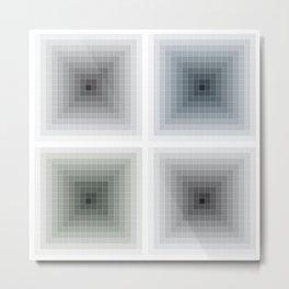 All theory is grey (J.W. Goethe) Metal Print