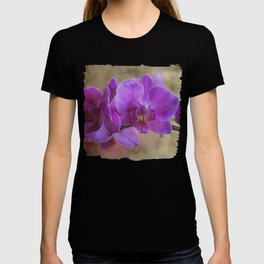 The purple orchid T-shirt
