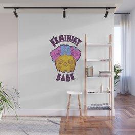 Feminist Babe Wall Mural