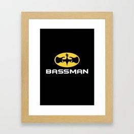Bassman Framed Art Print