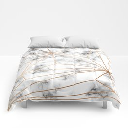 Marble & Gold 046 Comforters