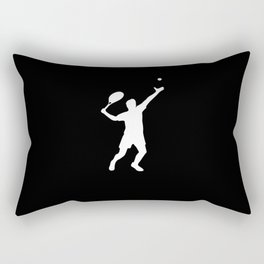 Tennis Gift For Husband Rectangular Pillow