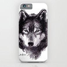 Wolf iPhone 6s Slim Case