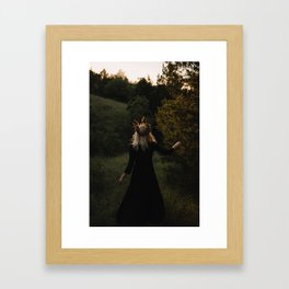 Forest Witch Framed Art Print