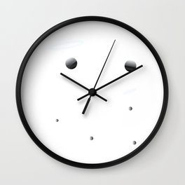 Cool and Awesome Astronaut in Space Tee Design for an Extravagant Rocketeer Like you! Wall Clock