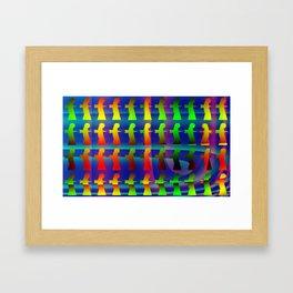 Disruptive element Framed Art Print
