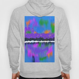 TREES BY THE LAKE OIL PAINTING Hoody