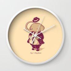 Eleg-phant Wall Clock