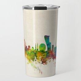 Abu Dhabi Skyline Travel Mug