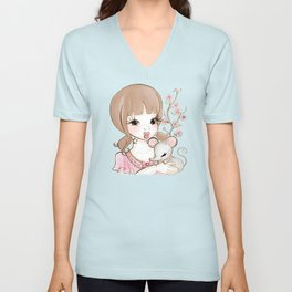 Year of the Rat Unisex V-Neck