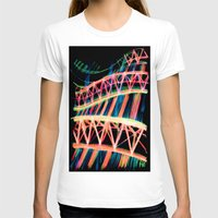 industrial T-shirts featuring NEON INDUSTRIAL by JESSIE WEITZ