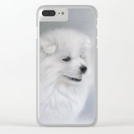 """"""" Bright and Breezy """" Clear iPhone Case"""