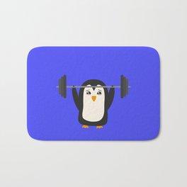 Penguin Weightlifting Bath Mat