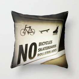 Why Not Throw Pillow