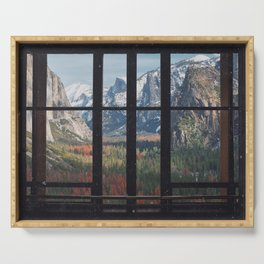 Yosemite Window Serving Tray