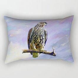 Ayres's Hawk Eagle Rectangular Pillow