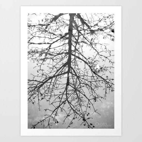 { Reflection } Art Print